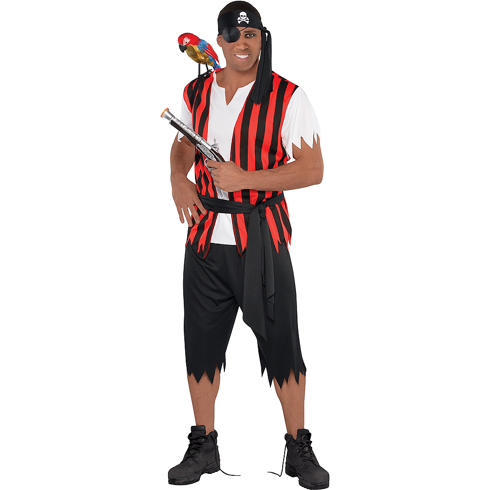Adult Ahoy Matey Pirate Costume Image #1