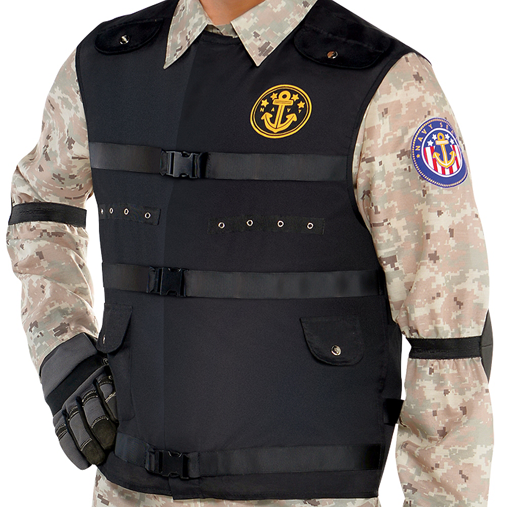Adult SEAL Team Hero Costume Image #3
