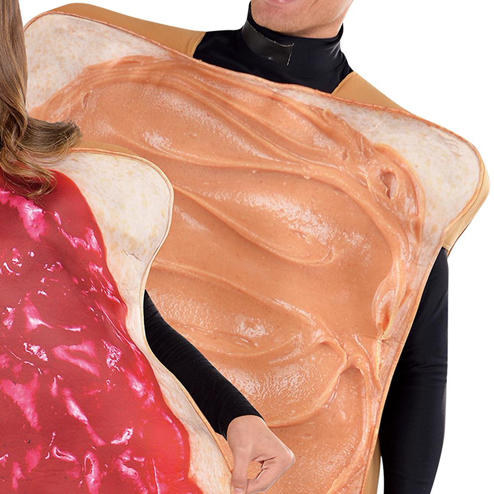 Adult Peanut Butter & Jelly Costume Classic Image #2