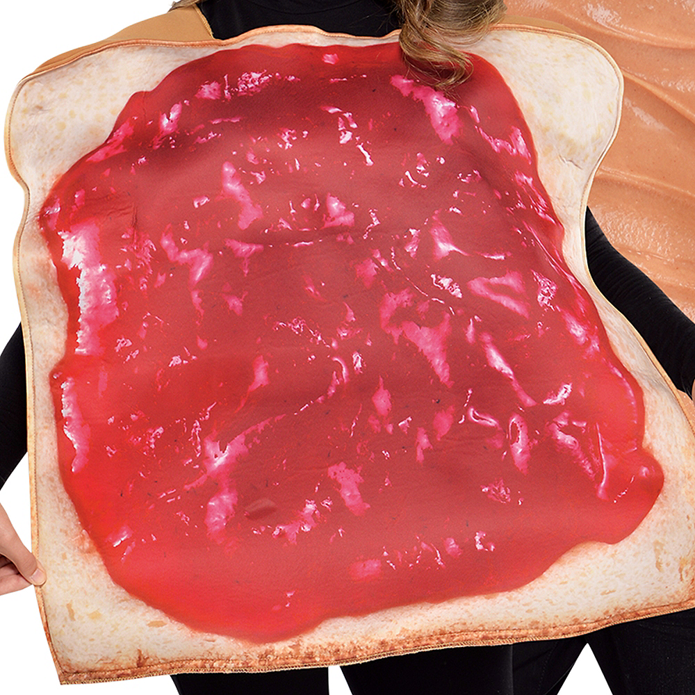 Adult Peanut Butter & Jelly Costume Classic Image #3