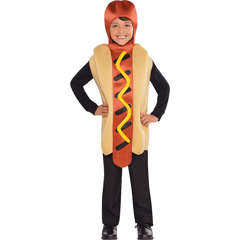 Boys Hot Diggety Hotdog Costume Image #1