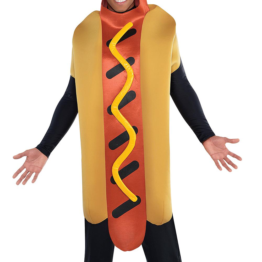 Adult Hot Diggity Hot Dog Costume Image #3