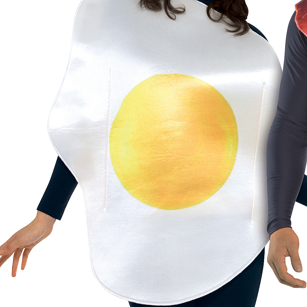 Adult Breakfast Buddies Bacon & Egg Costume Image #3