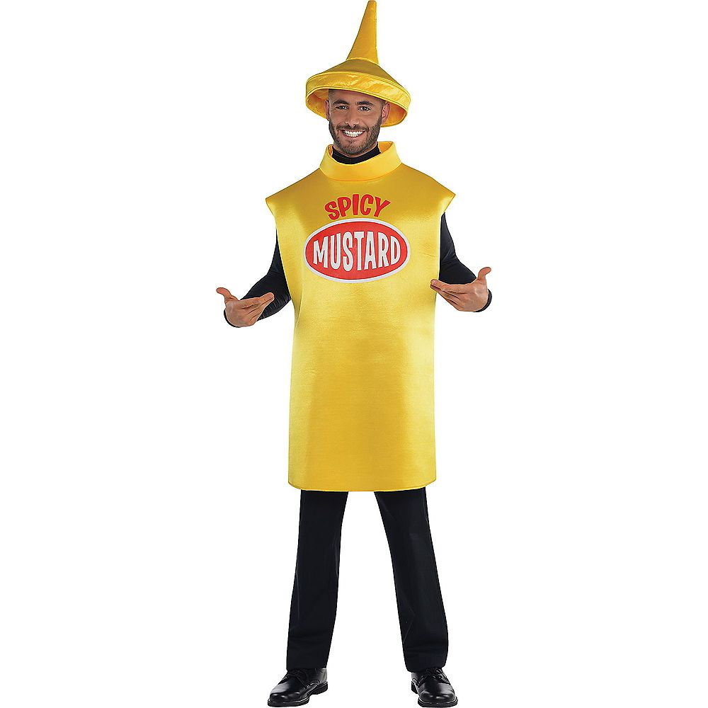 Nav Item for Adult Spicy Mustard Costume Image #1