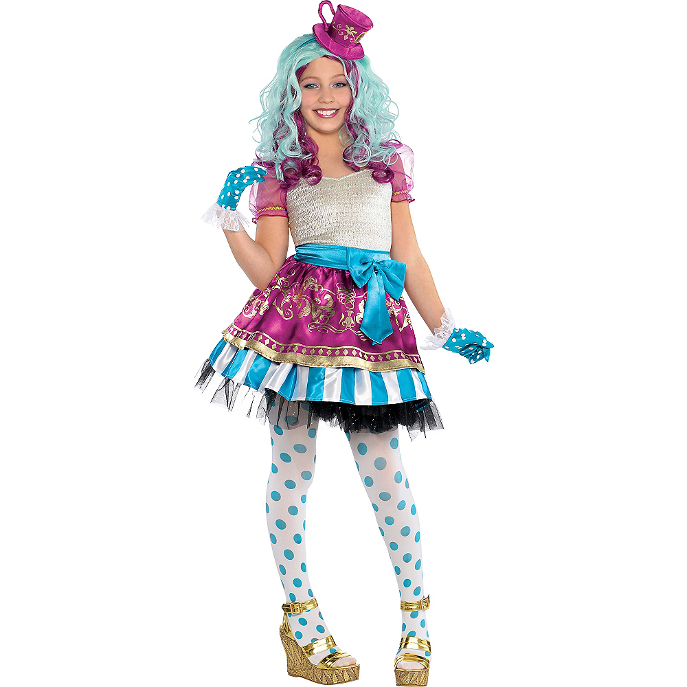 Girls Madeline Hatter Costume Supreme - Ever After High Image #1