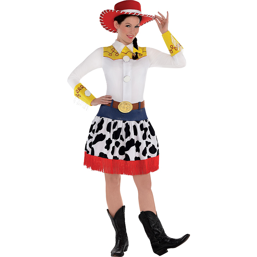 Nav Item for Adult Jessie Costume Deluxe - Toy Story Image #1