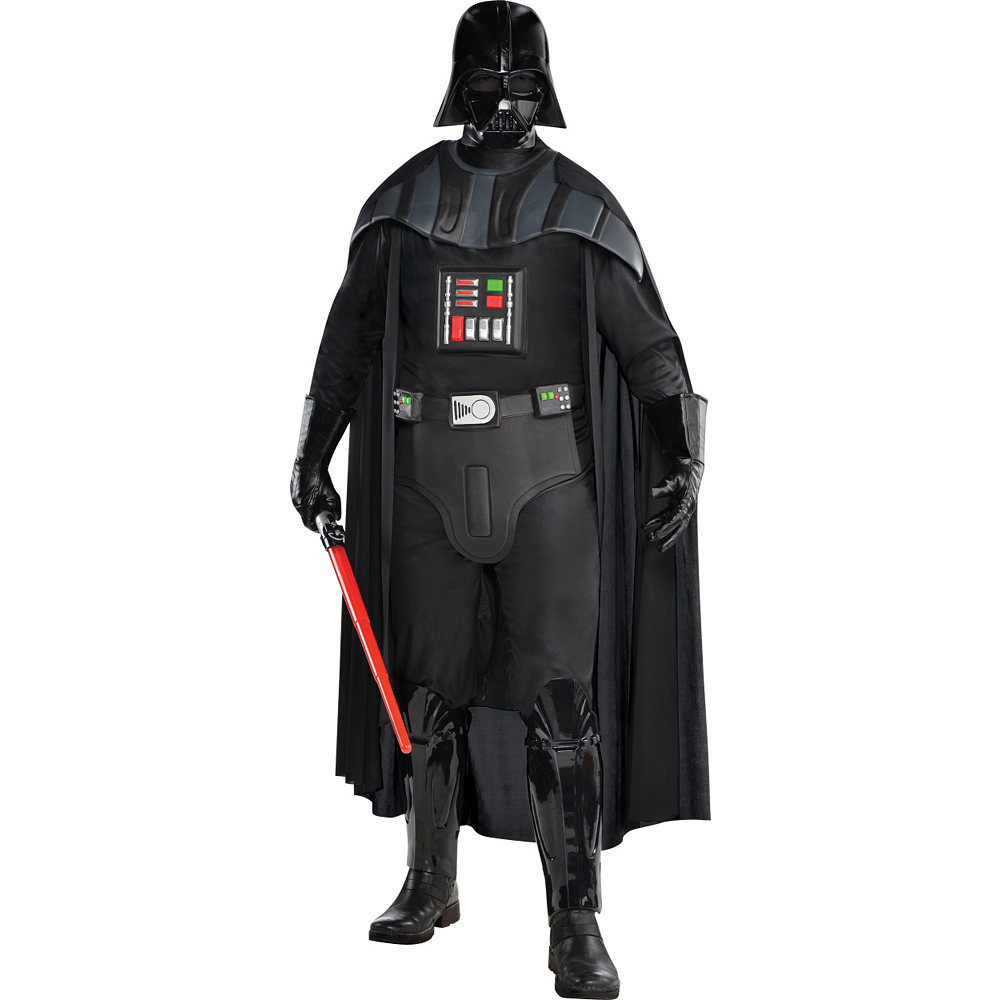 Adult Darth Vader Costume Deluxe - Star Wars Image #1