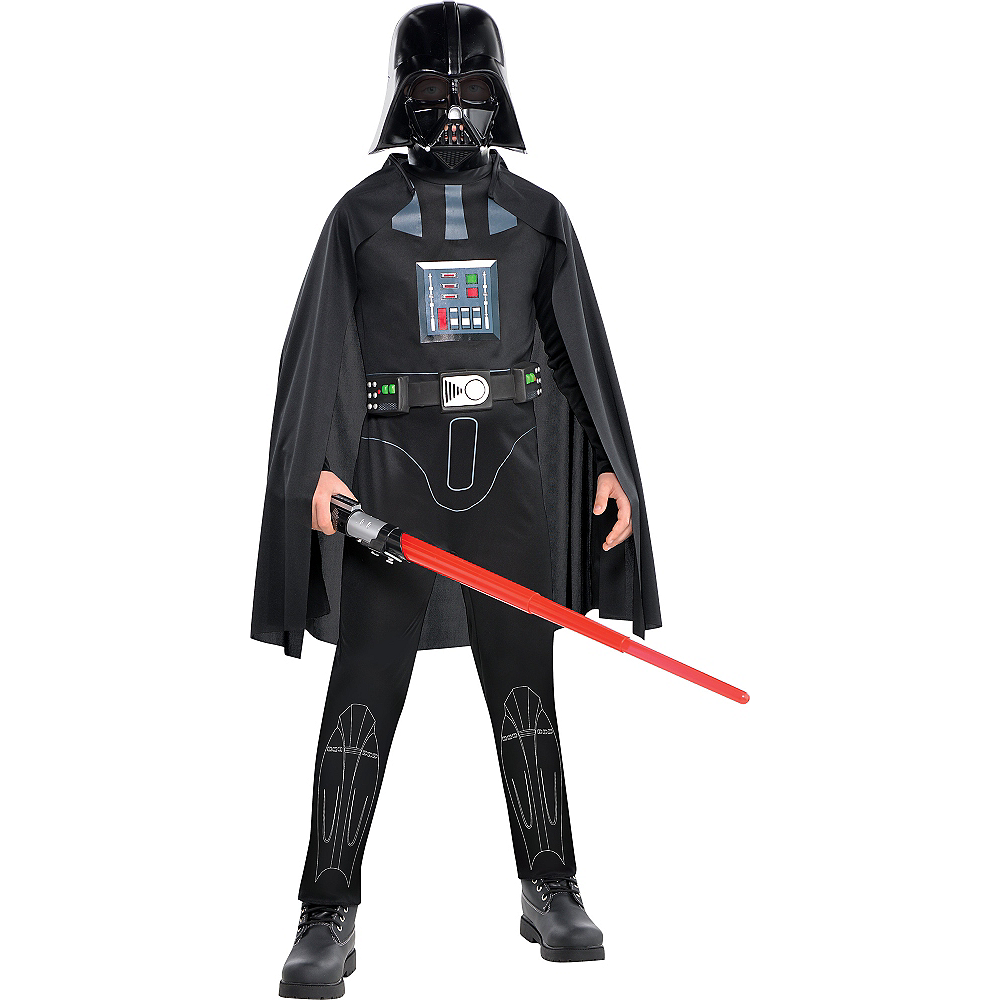 Boys Darth Vader Costume Classic - Star Wars Image #1