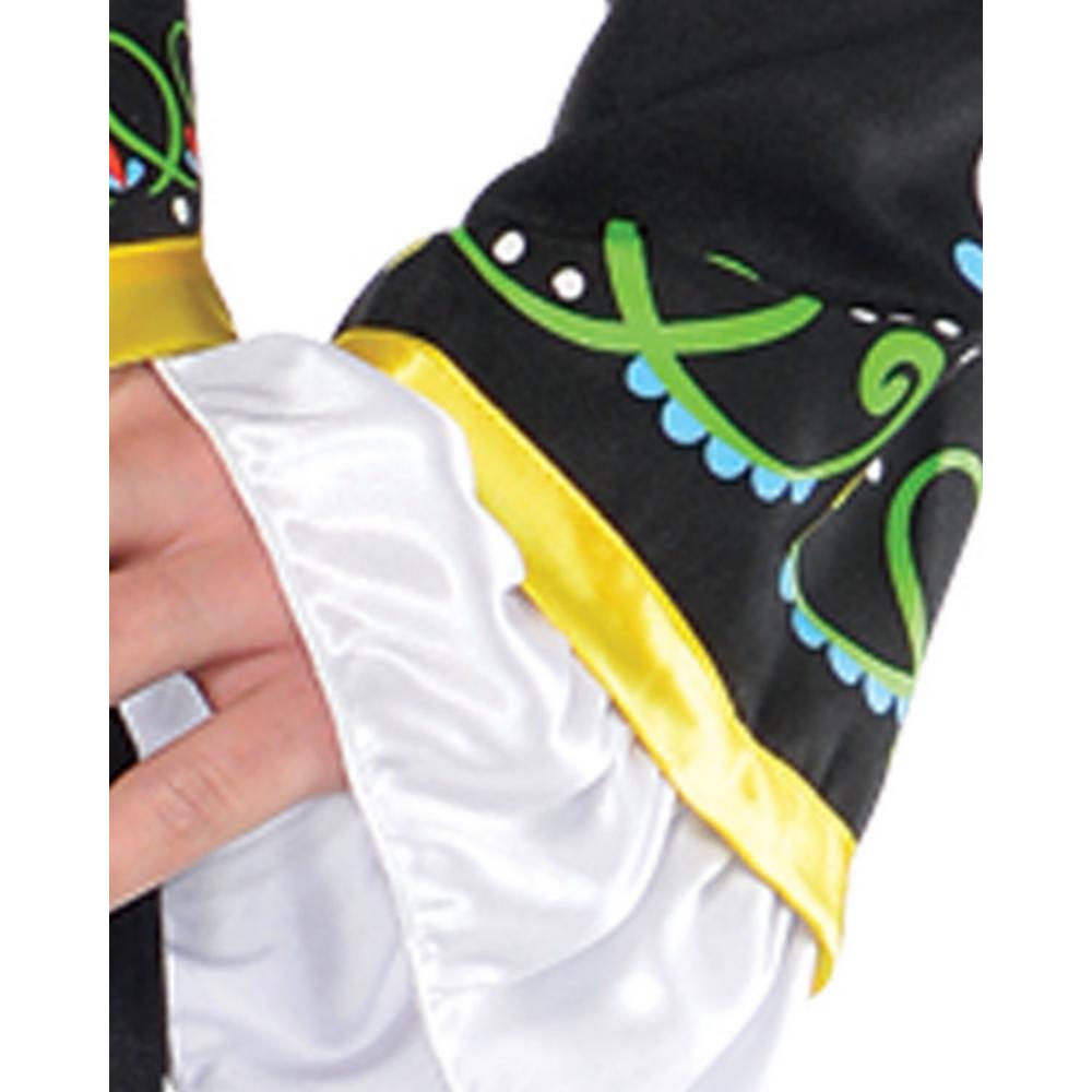 Adult Day of the Dead Sombrero Senor Costume Image #5
