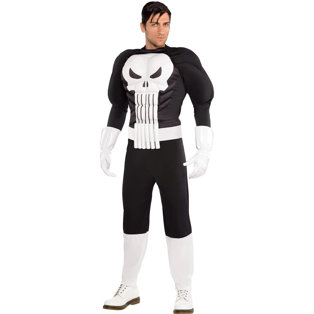 Adult Punisher Costume Image #1