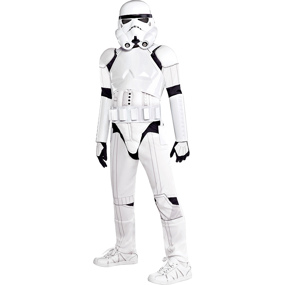 Boys Stormtrooper Costume Deluxe - Star Wars Image #1