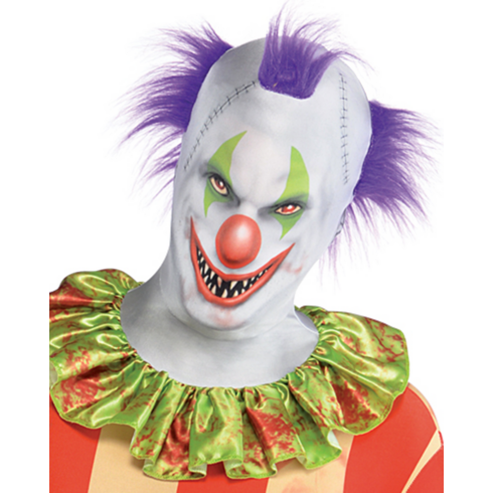 Nav Item for Adult Creepy Clown Partysuit Image #2