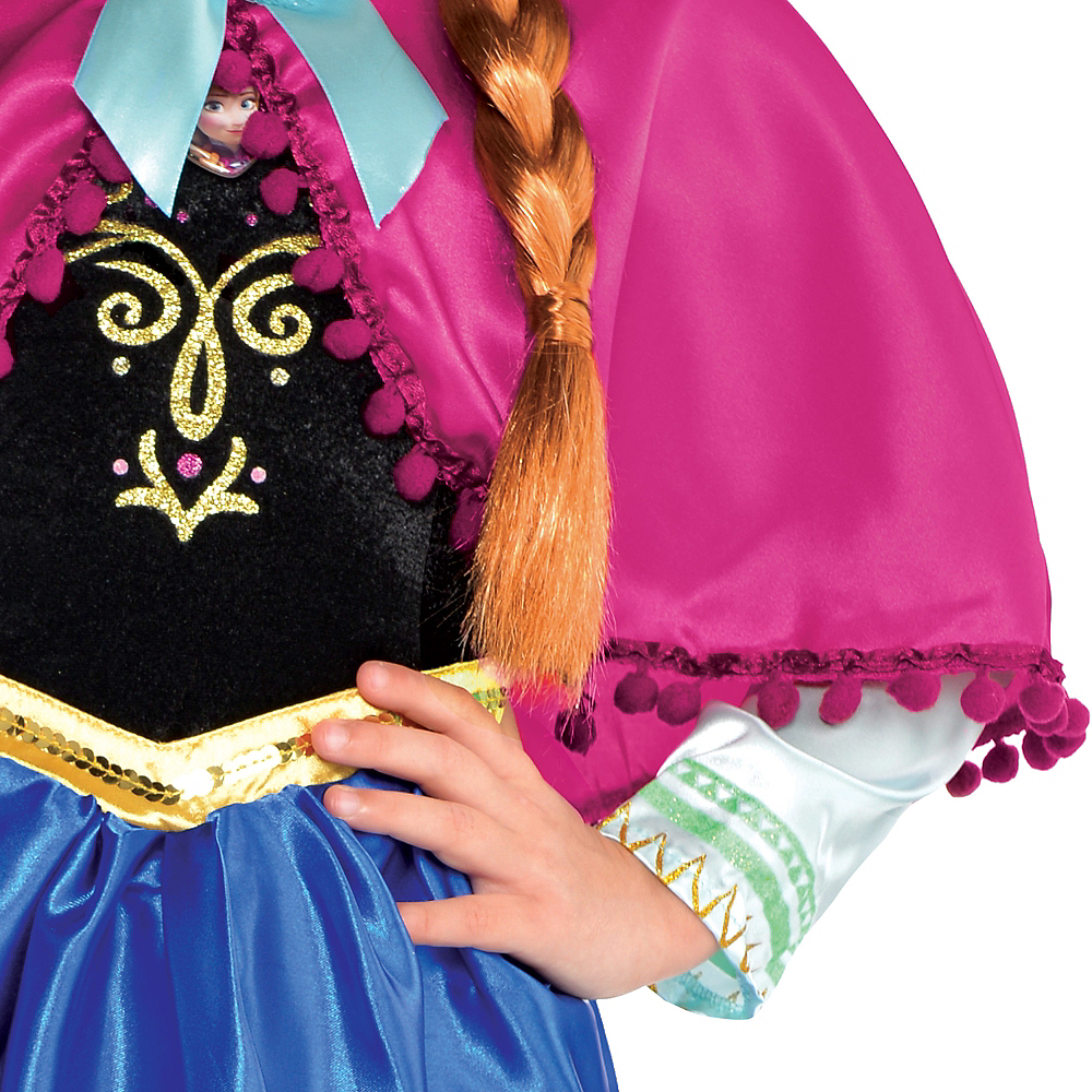 Nav Item for Girls Anna Costume - Frozen Image #4
