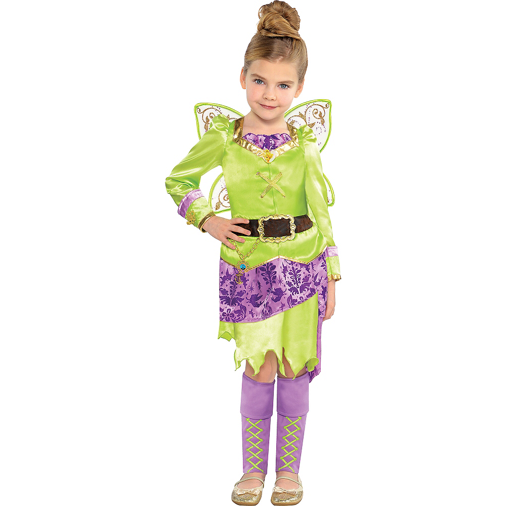 Girls Tinker Bell Costume - The Pirate Fairy Image #1