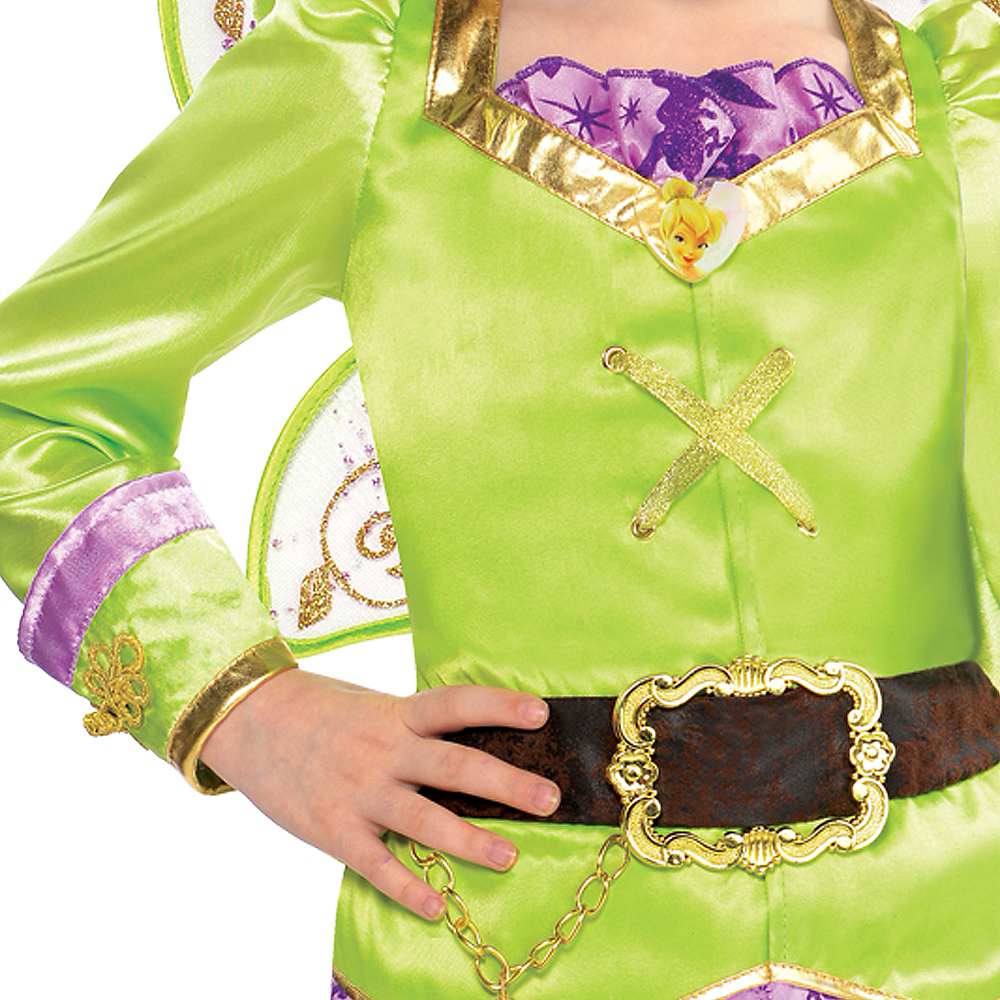 Girls Tinker Bell Costume - The Pirate Fairy Image #3