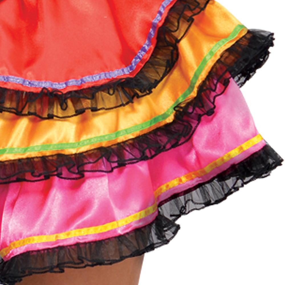 Adult Day of the Dead Senorita Costume Image #4