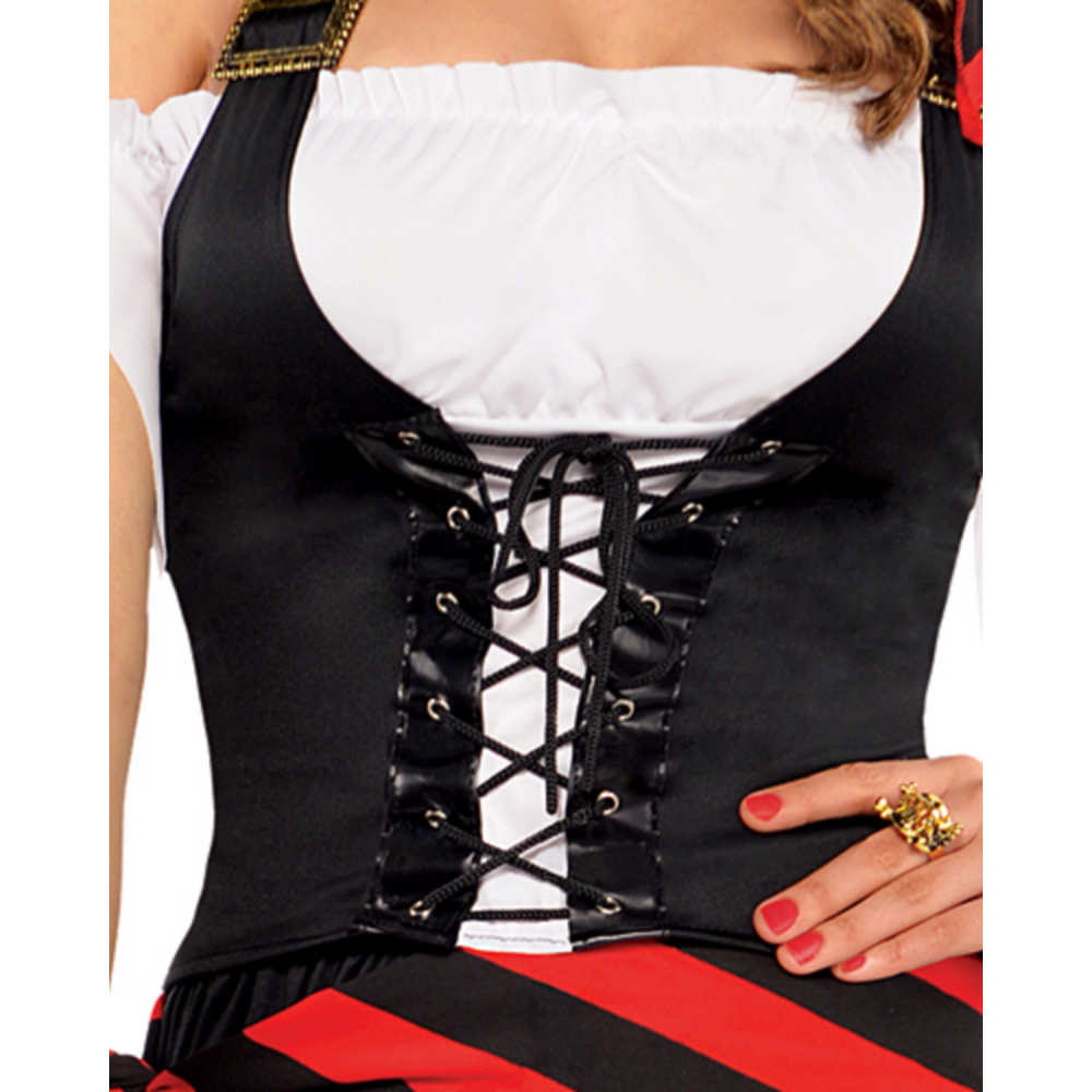 Adult Rogue Maiden Pirate Costume Image #3