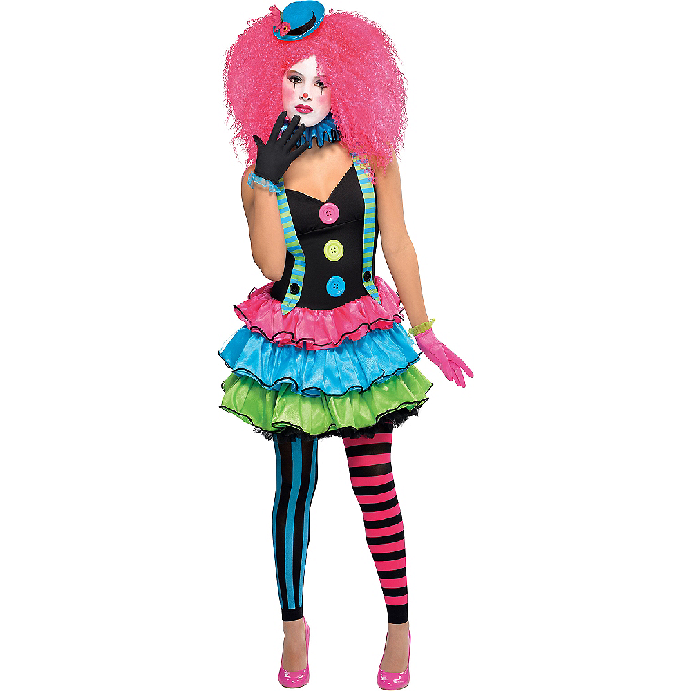 Teen Girls Cool Clown Costume Party City