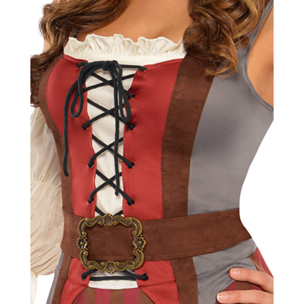Adult Castaway Pirate Costume Image #3