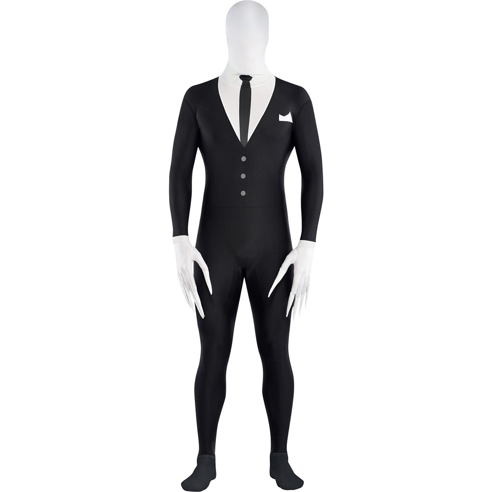 Nav Item for Adult Slender-Man Partysuit Image #1