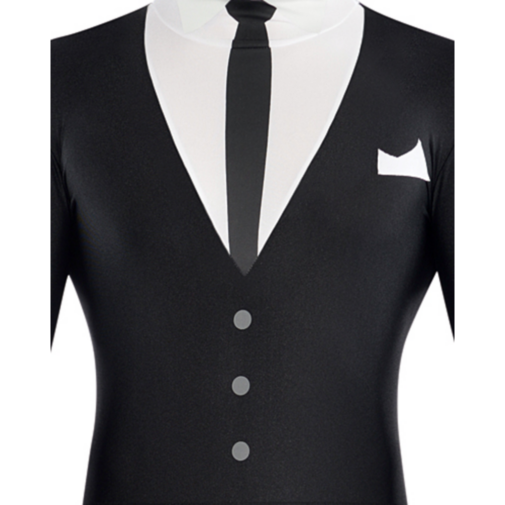 Nav Item for Adult Slender-Man Partysuit Image #2