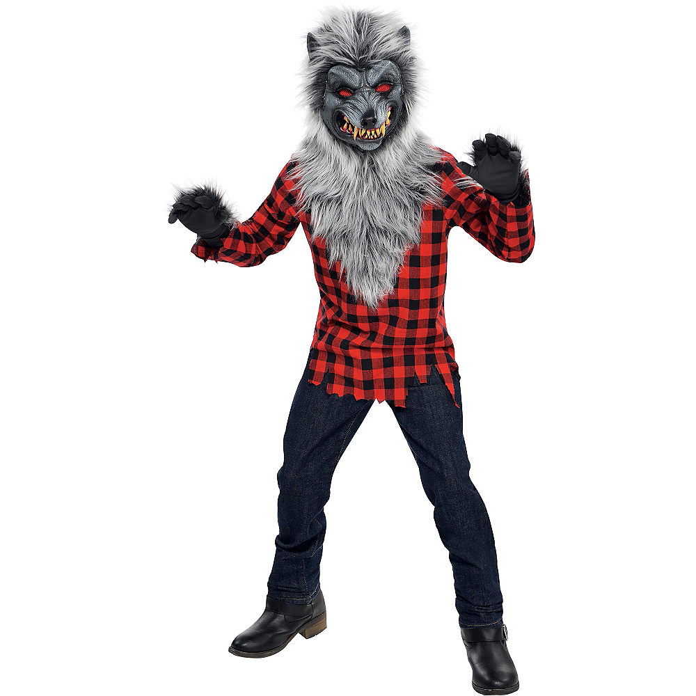 Nav Item for Boys Hungry Howler Werewolf Costume Image #1
