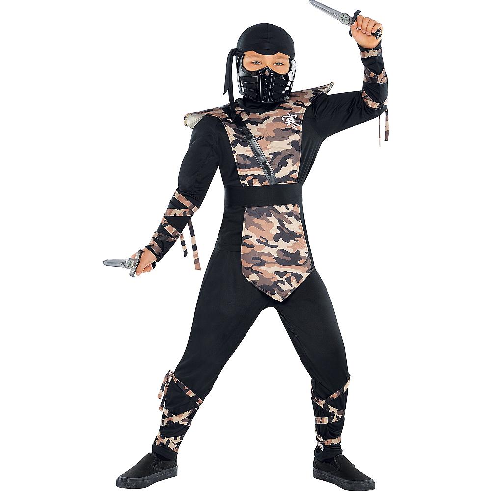 Boys Combat Ninja Costume Image #1