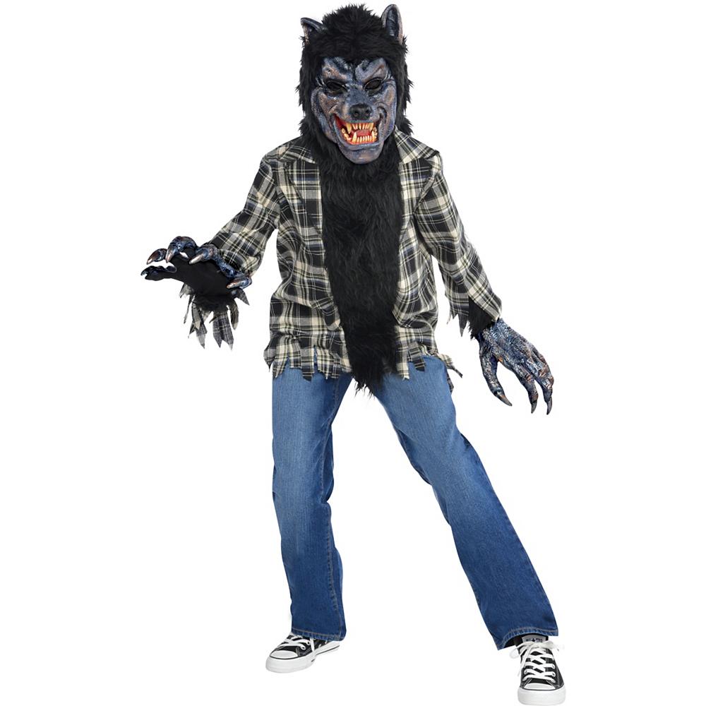 Boys Rabid Werewolf Costume Image #1