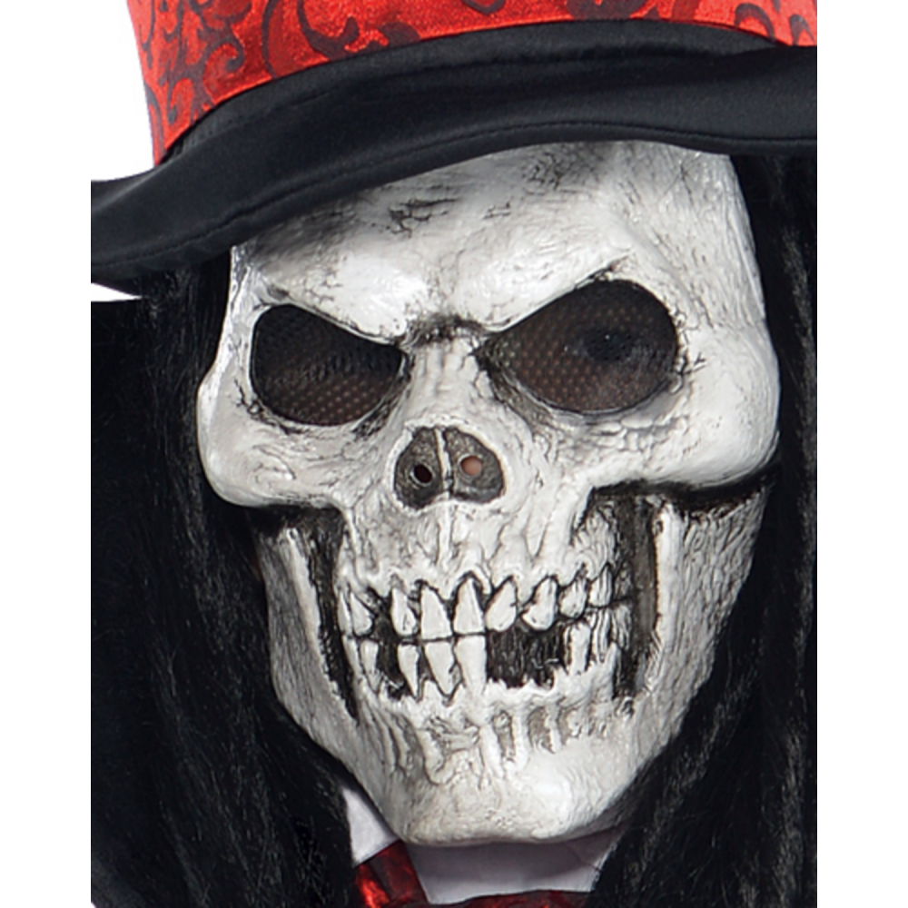 Boys Dapper Death Reaper Costume Image #3