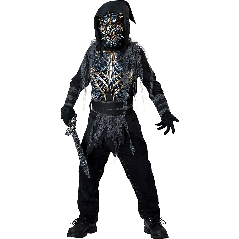 Nav Item for Boys Death Warrior Costume Image #1