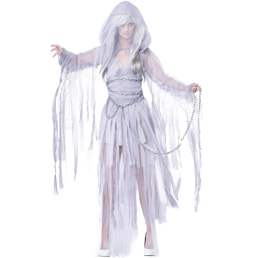 Adult Haunting Beauty Ghost Costume Image #1