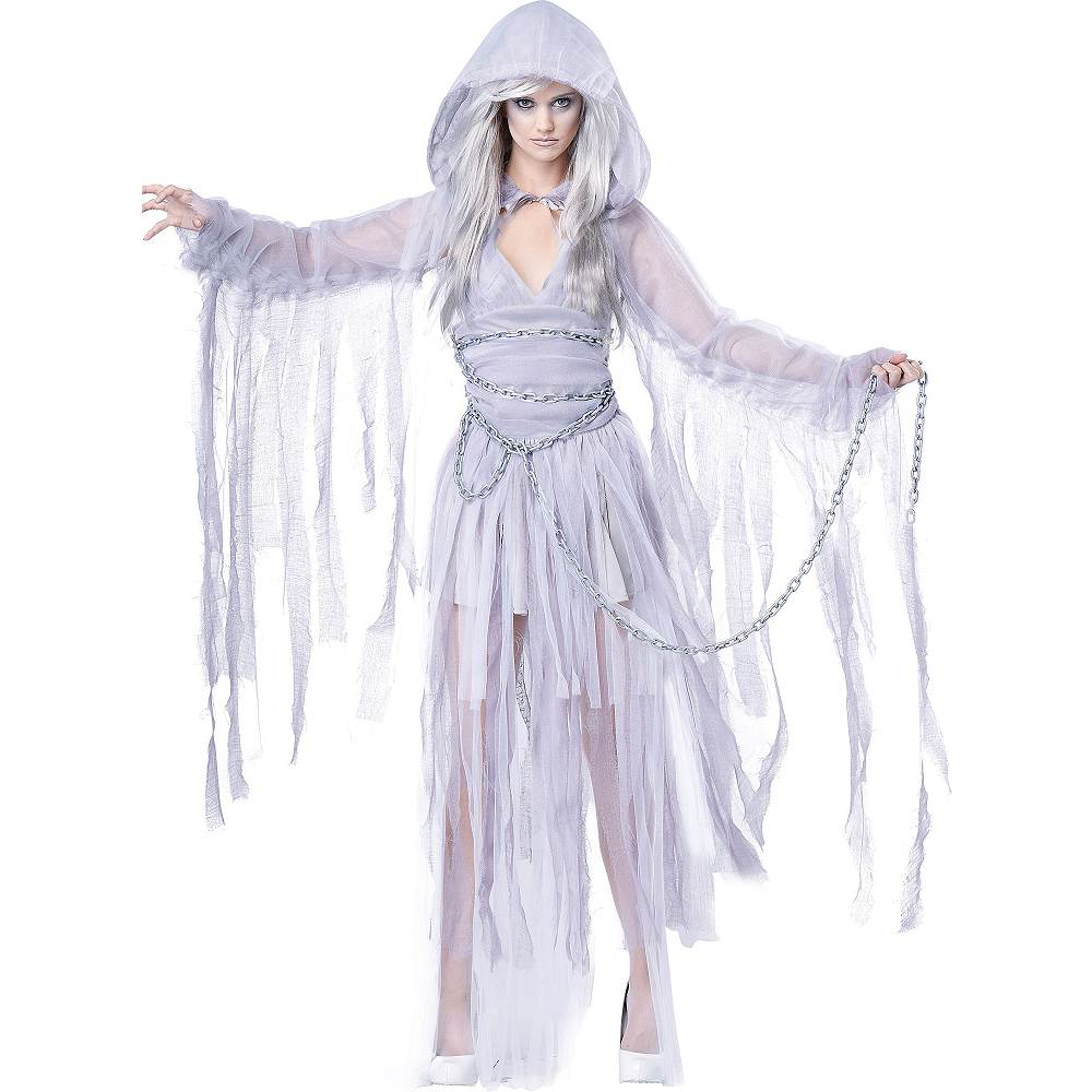 Adult Haunting Beauty Ghost Costume Image #2