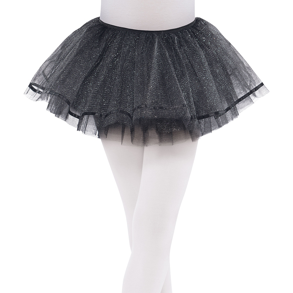 Child Shimmer Black Tutu Image #1