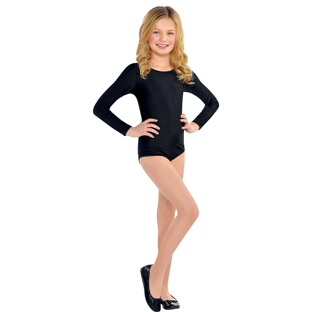 Child Black Bodysuit Image #1