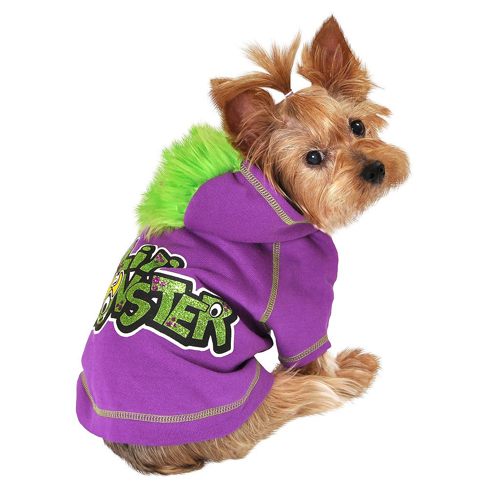 Purple Li'l Monster Dog Costume Image #1