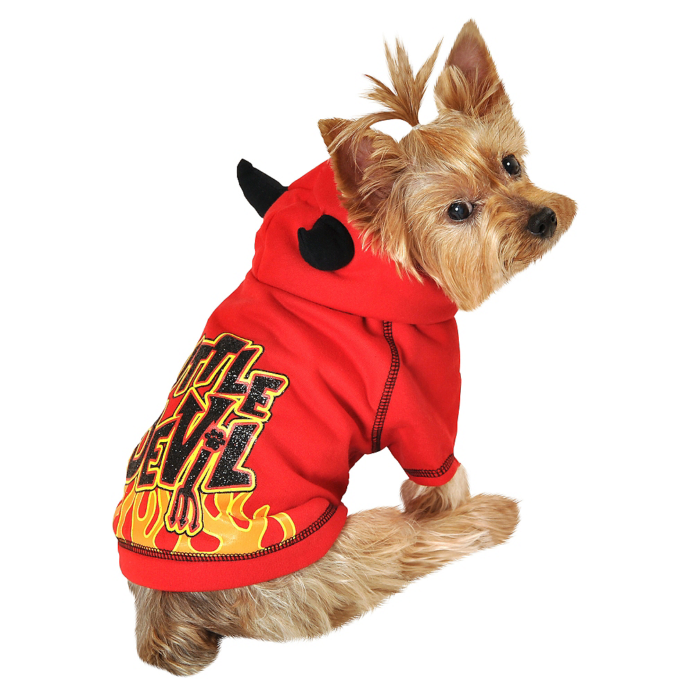 Red Little Devil Dog Costume Image #1
