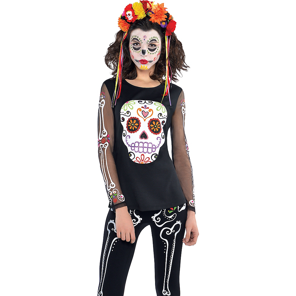 Day of the Dead Long-Sleeve Shirt Image #1