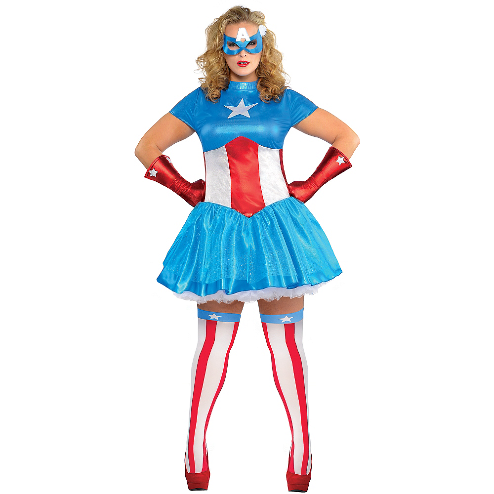 Adult American Dream Costume Plus Size Image #1