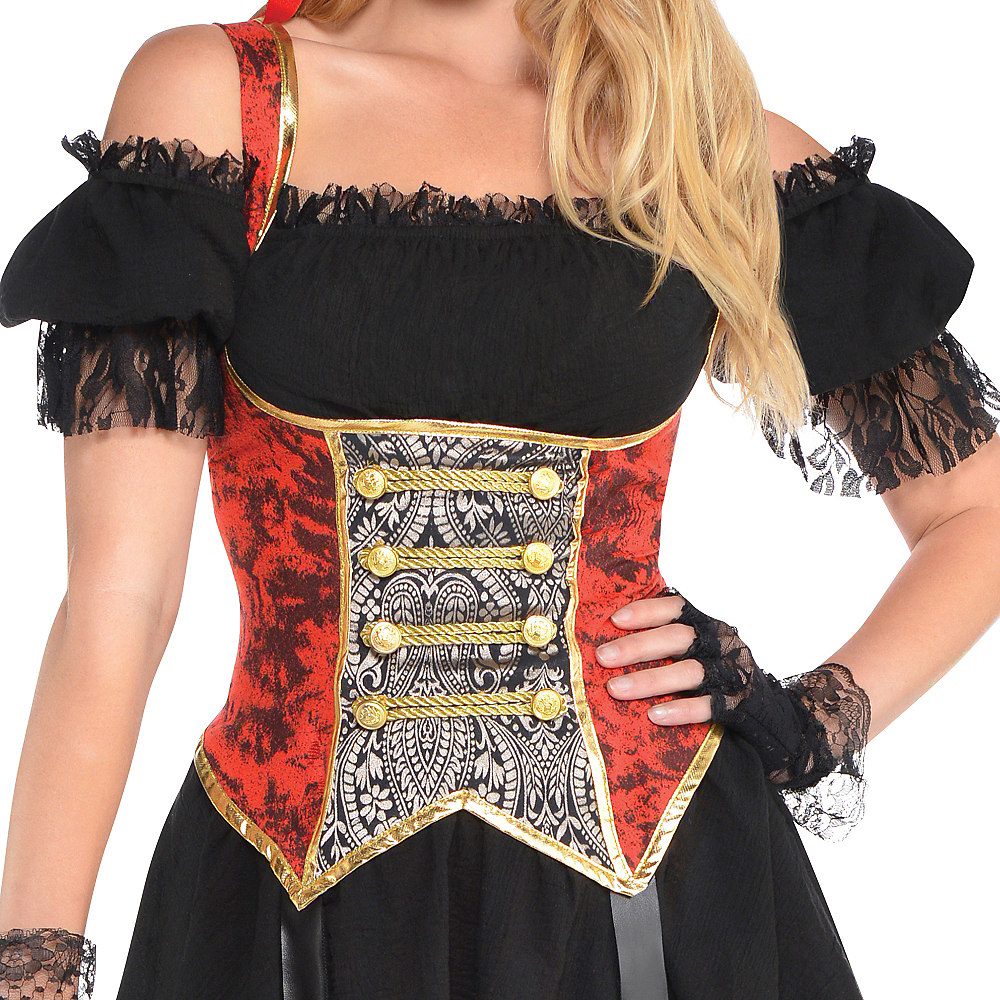 Adult Lassie Lady Pirate Costume Image #3