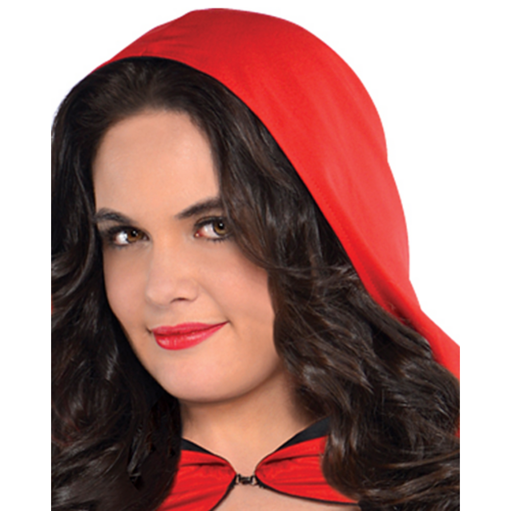 Adult Enchantress Red Riding Hood Costume Plus Size Image #2