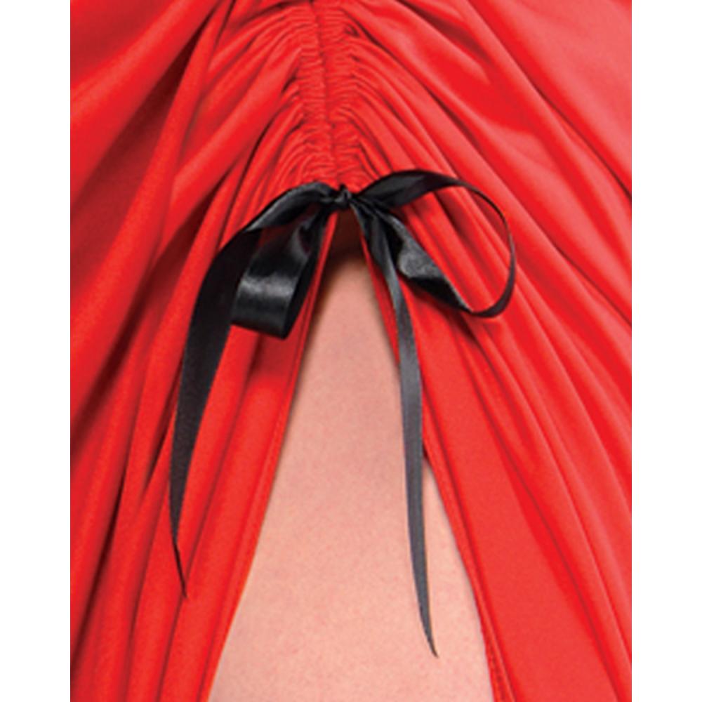 Adult Enchantress Red Riding Hood Costume Plus Size Image #5