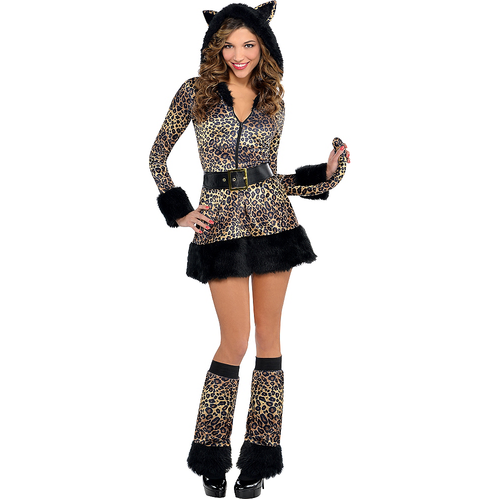 Nav Item for Adult Pretty Kitty Costume - Cat Image #1