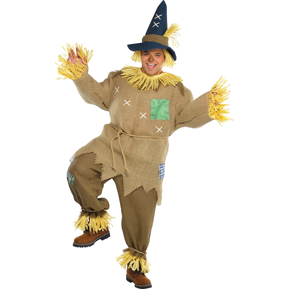 Adult Mr. Scarecrow Costume Plus Size Image #1