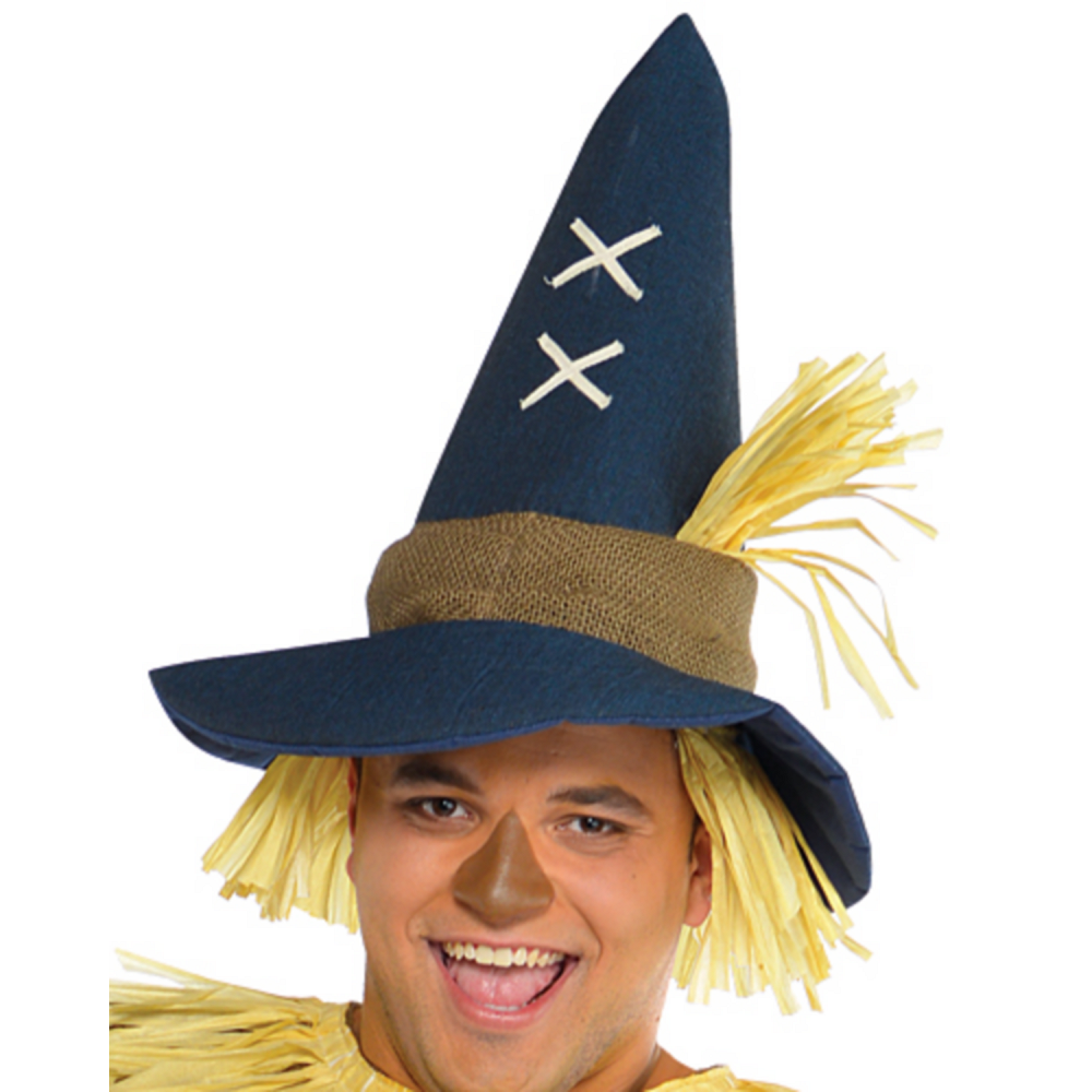 Adult Mr. Scarecrow Costume Plus Size Image #2