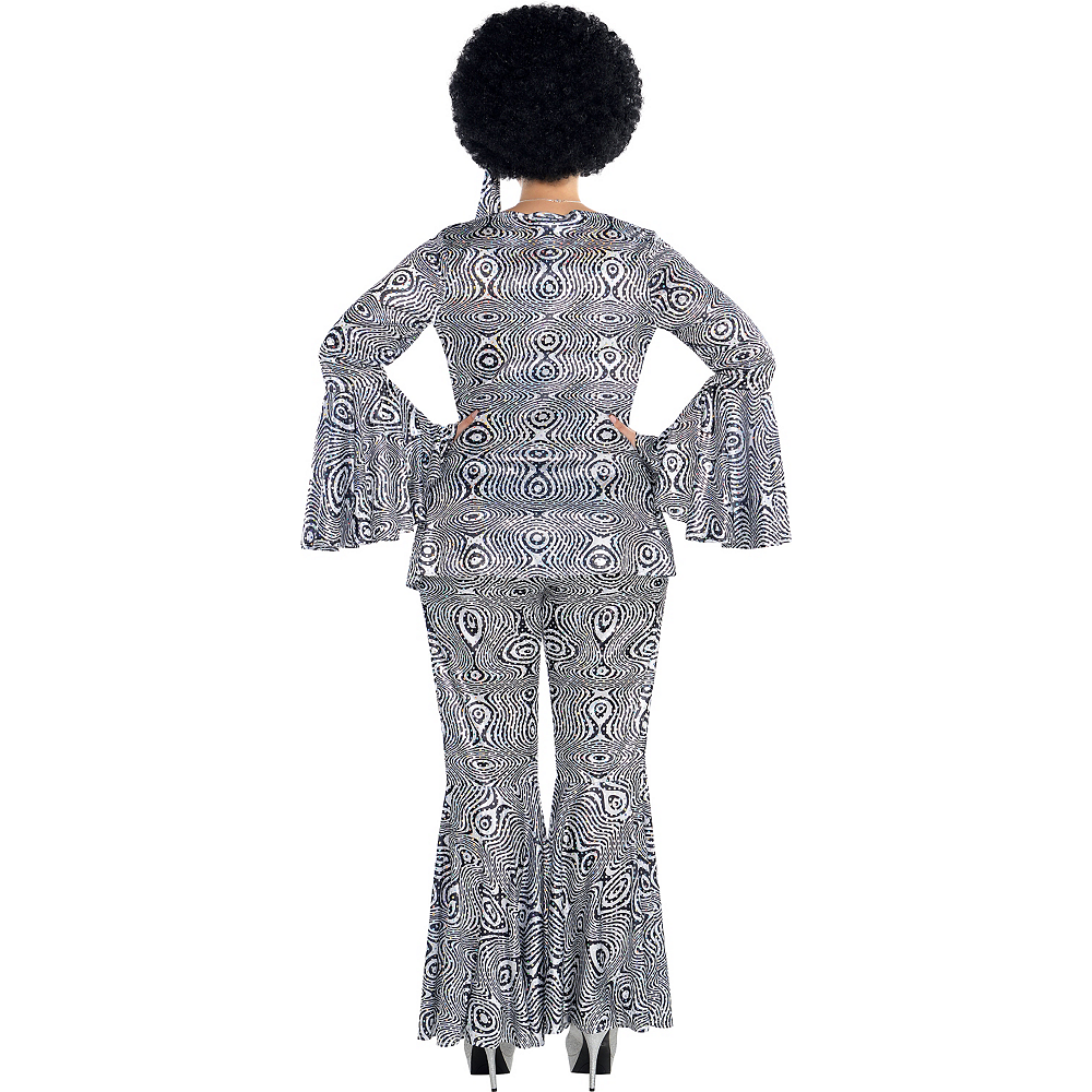 Adult Dancing Queen Disco Costume Plus Size Image #2