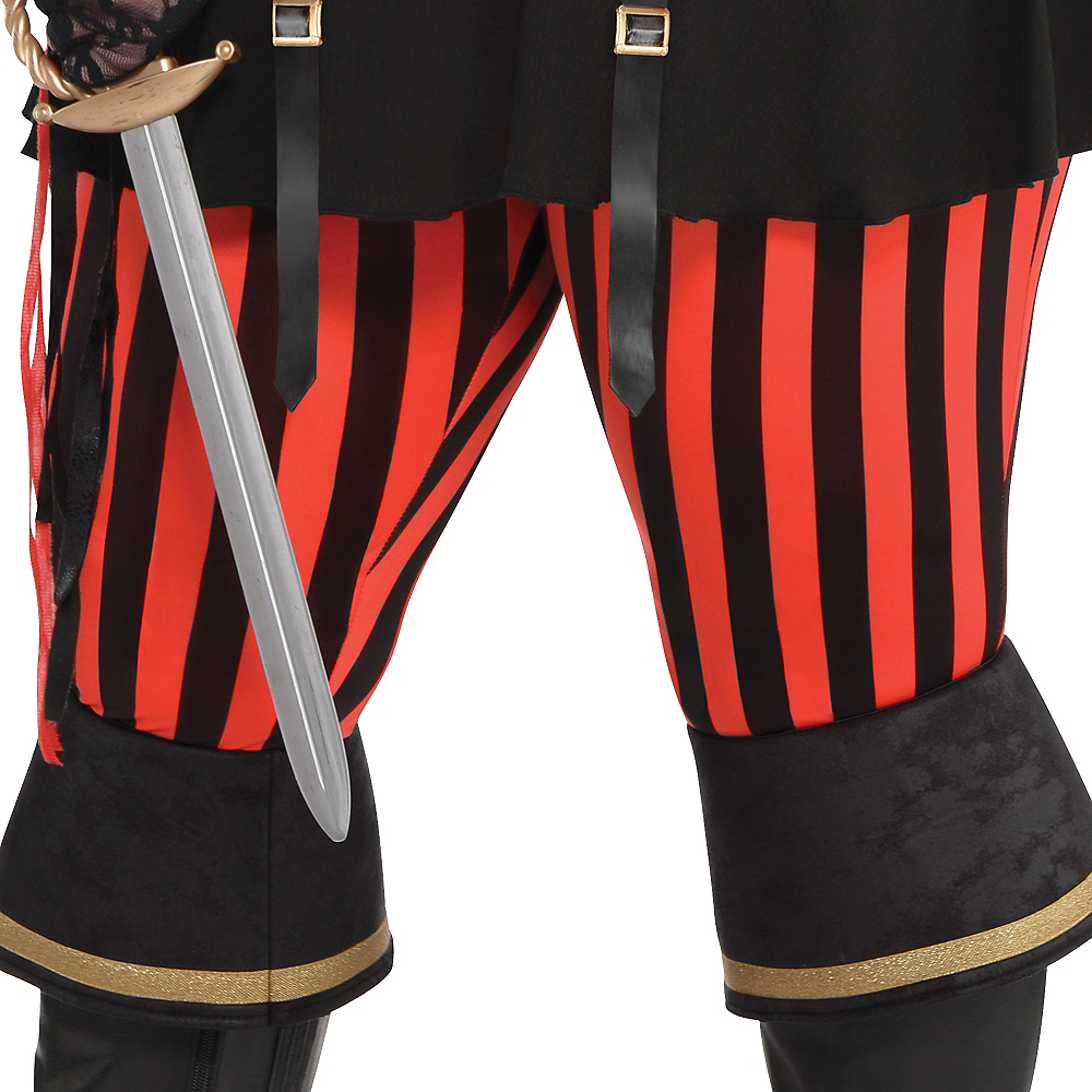 Adult Lassie Lady Pirate Costume Plus Size Image #4