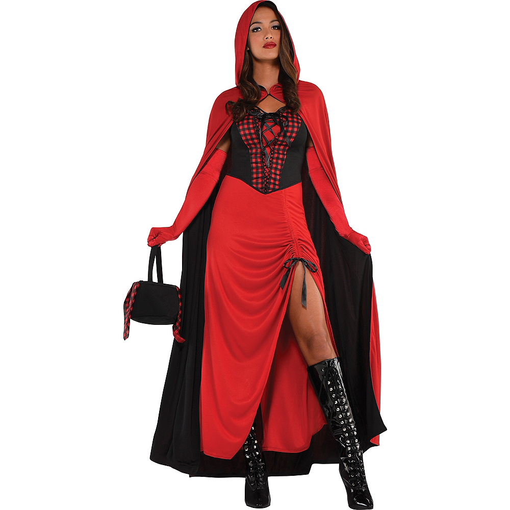 Adult Enchantress Red Riding Hood Costume Image #1