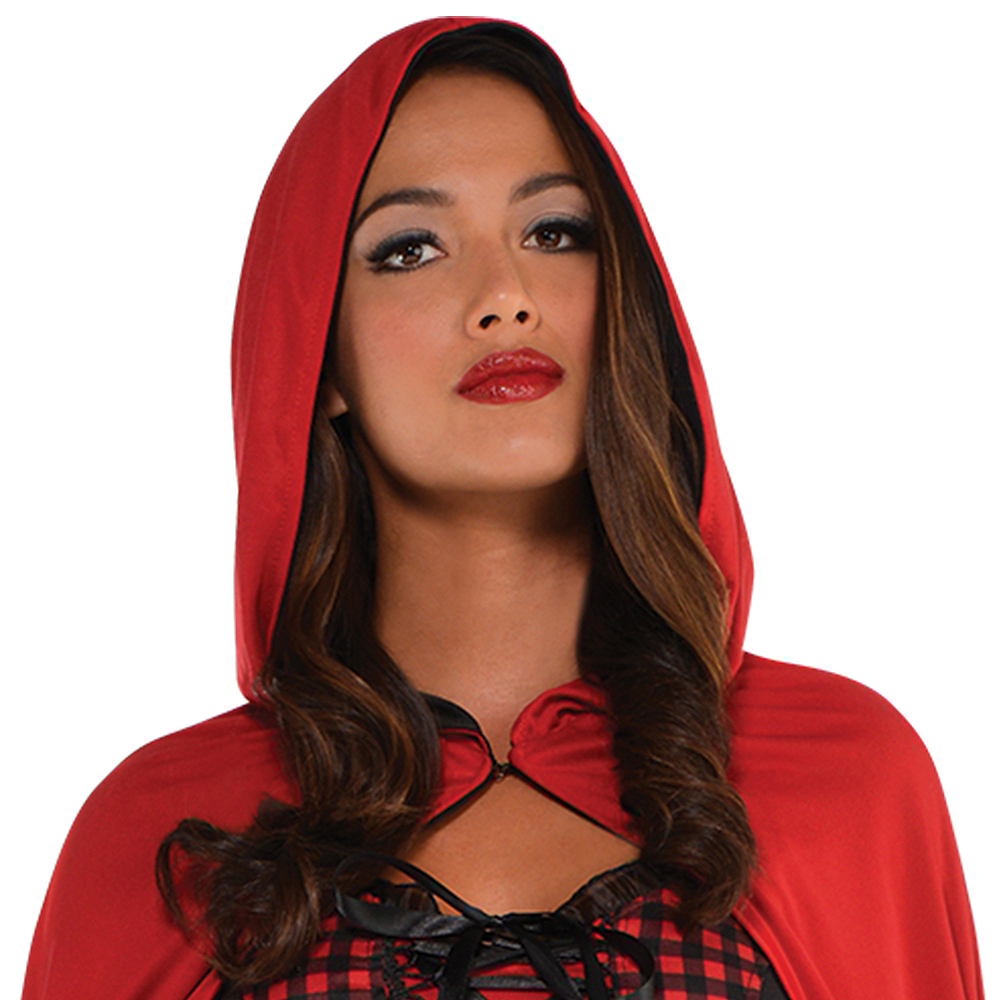 Adult Enchantress Red Riding Hood Costume Image #2