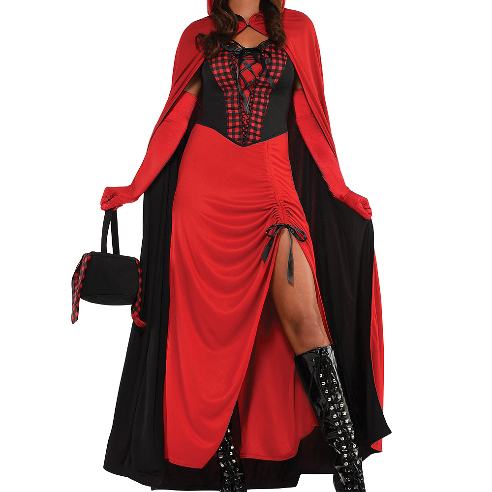 Adult Enchantress Red Riding Hood Costume Image #3