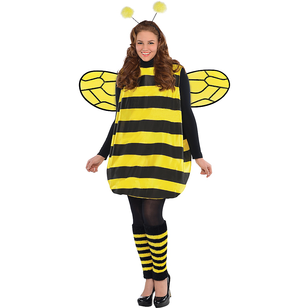 Adult Darling Bee Costume Plus Size Image #1